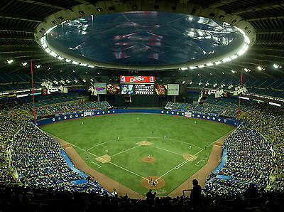 Montreal Expos - Olympic Stadium, 8x10 Color Photo