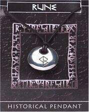 Viking Rune Stone Pendant  -  SUCCESS