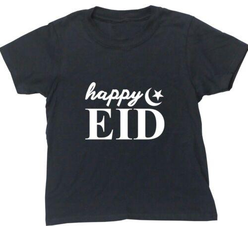 Happy EID kids short sleeve t-shirt