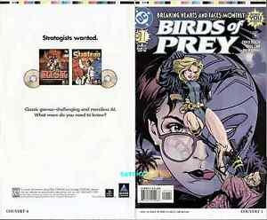 Birds Of Prey 1 Original Cover Proof Greg Land Art Oracle Barbara Gordon Dc Ebay