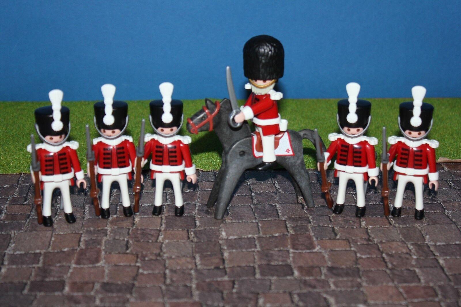 Français Soldats Vin Rouge Uniforme Custom Napoléon Playmobil