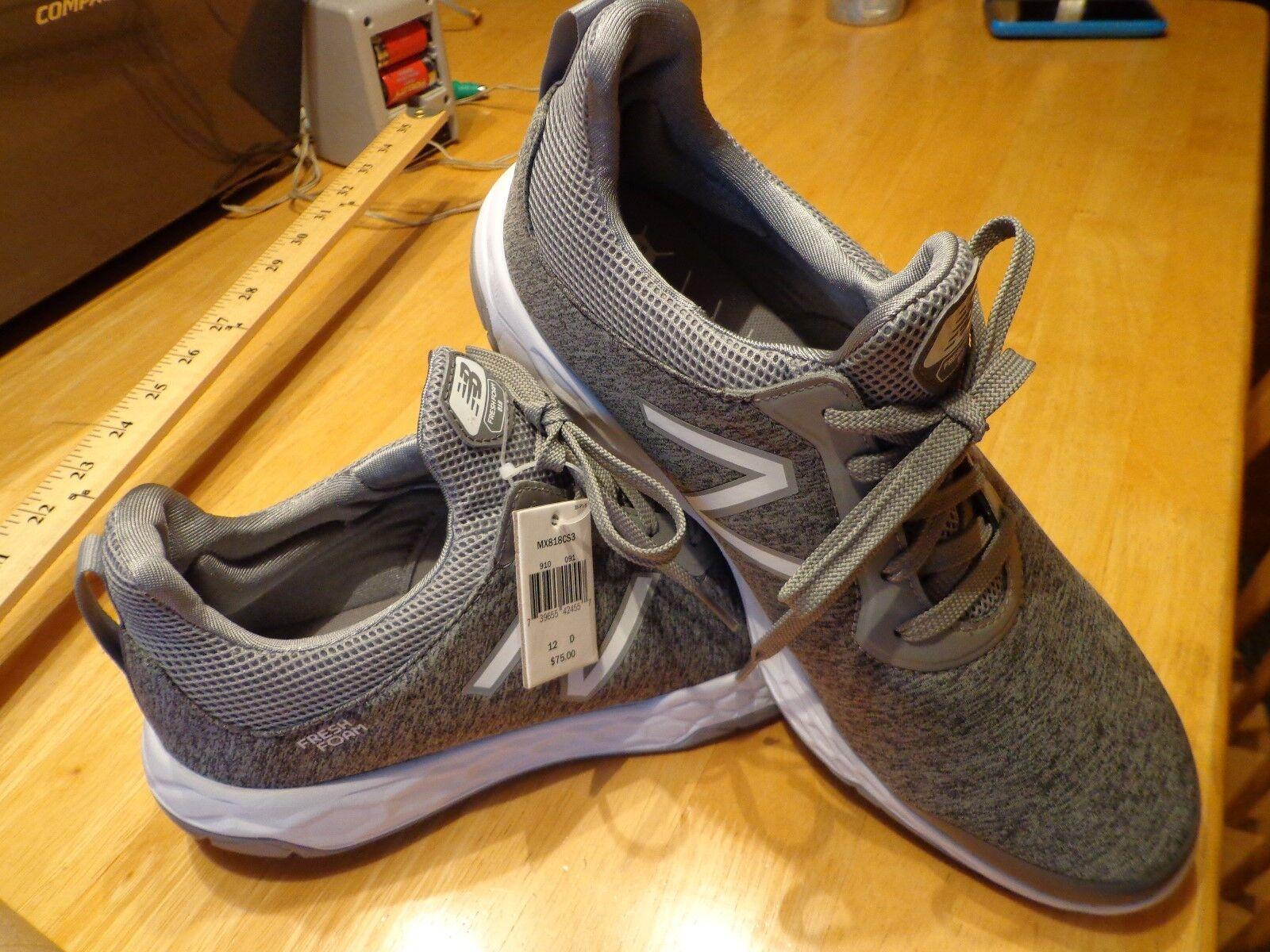 New Balance MX818CS3 Uomo 818v3 Fresh Foam Training Shoe size 12D