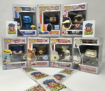 VAULTED MYSTERY BOX- MORE GRAILS MORE EXCLUSIVES FUNKO POP COMMONS