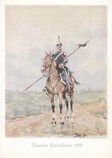 A9426) CODROIPO (UDINE), CAVALLERIA, LANCIERI DI NOVARA NEL 1839.
