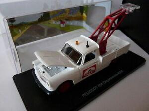 voiture-1-43-atlas-NOREV-petits-utilitaires-PEUGEOT-404-pick-up-depanneuse-AVIA
