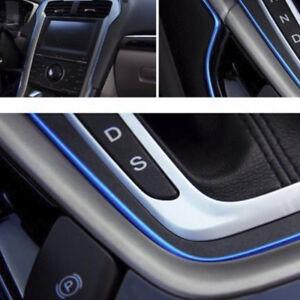 5M-CHROME-Shiny-AUTO-ACCESSORIES-CAR-Universal-Interior-Gap-Decorative-Blue-Line