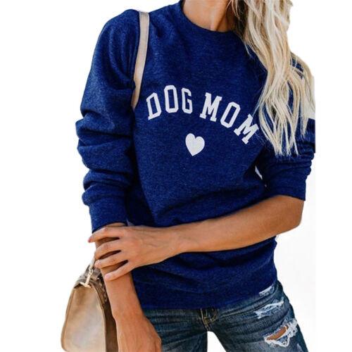 FunnySweatshirt Fashion Casuals Women Tops Hoodie Sweatshirt Letter Print BlouHK