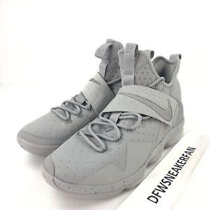 02d58a0a5d3a3 Nike Lebron James 14 XIV Men s 11 Reflect Silver Basketball Shoes ...