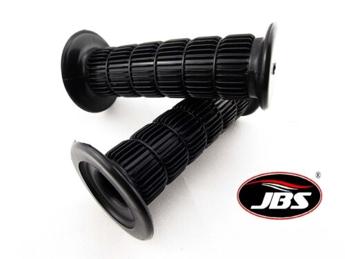 YAMAHA RT3 1973 JBS BLACK HAND GRIP SET LEFT RIGHT PAIR HANDLEBAR GRIPS