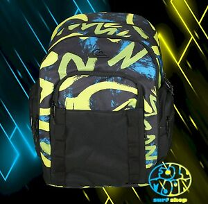 New Quiksilver New School Rasta Backpack Bookbag