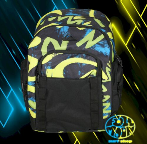 New Quiksilver 1969 Special Blue Backpack Bookbag