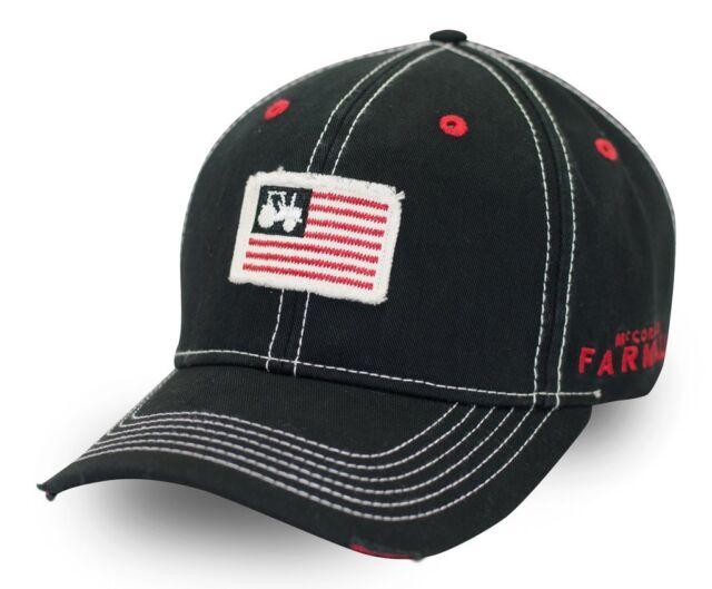 0f3988da99a Farmall Tractor Flag Patch Men s Cap for sale online