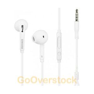 Genuine OEM Samsung Wired Earphones Earbuds  EO-EG920LW  White - NEW