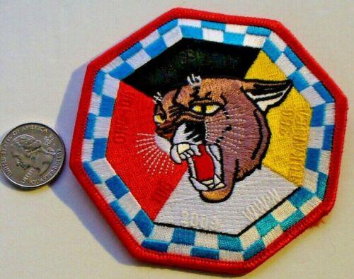 2009 TUKARICA Lodge 266 Patch ORE-IDA Council Big Bad Cat Cougar Idaho Oregon