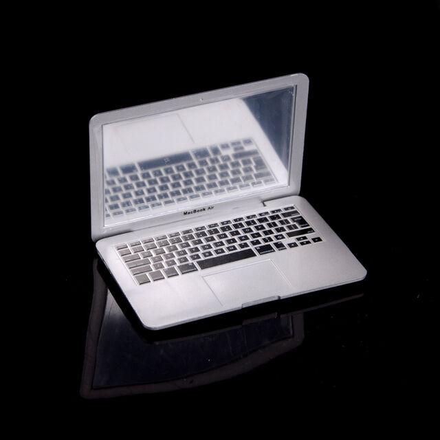 Cute Mini Pocket MacBook Air Laptop Clear Glass Women Cosmetic Beauty MirrorBLCA