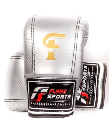 Flaresports Bag Mitts gloves training full thumb focus kick boxing strike-Large