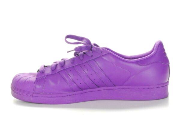 Adidas Superstar 1 Supercolor Pack Herren Sneaker Lila