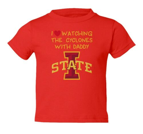 Iowa State Watching With Daddy Toddler T-Shirt