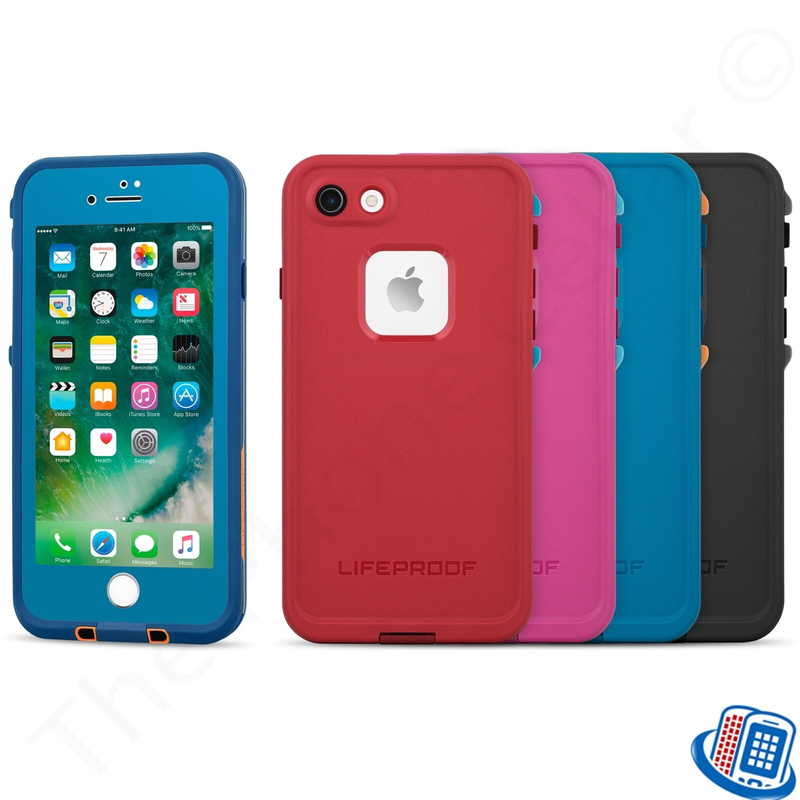 huge discount 0ae52 0f712 Details about New OEM LifeProof FRE Series Waterproof TWPP Case for Apple  iPhone 7 4.7