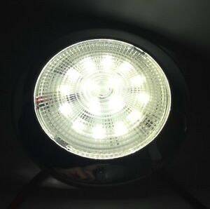 MARINE BOAT RV TRAILER BUS TRUCK LED BRIGHT SLIM CEILING LIGHT ODM POLISHED S.S.