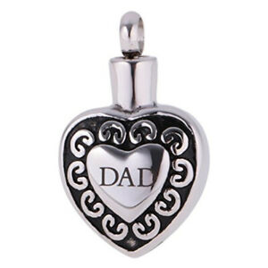 Cremation-Urn-Jewellery-Dad-Memorial-Funeral-Ashes-Keepsake-Pendant-Necklace