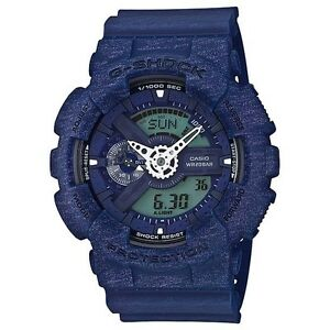 CASIO-G-SHOCK-MENS-WATCH-GA-110HT-2A-EXPRESS-POST-HEATHERED-BLUE-GA-110HT-2ADR