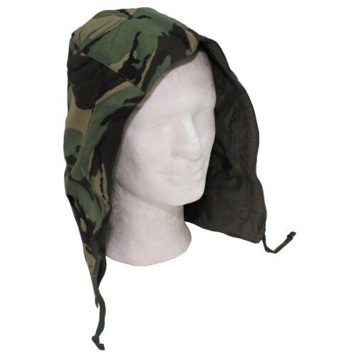 British Army Surplus Cotton Hood for Combat Jacket Smock DPM Camouflage