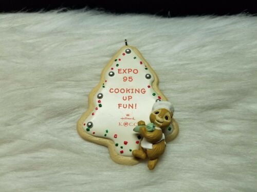 1995 Hallmark Keepsake Ornament Expo Cooking Up Fun!