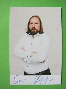 Autogrammkarte - Anton Hofreiter - Die Grünen - orig. autograph