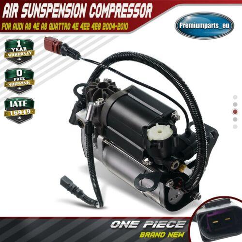 Air Suspension Compressor Pump for Audi A8 A8//S8 Quattro D3 4E 10-12 Cylinder