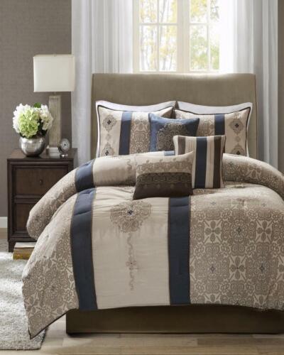 Madison Park Donovan 7-Piece Queen Comforter Set T41092