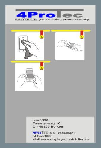VTech kidizoom Duo reforzado protector de pantalla antireflex protector de pantalla 4x