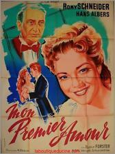 MON PREMIER AMOUR Affiche Cinéma / Movie Poster Romy Schneider