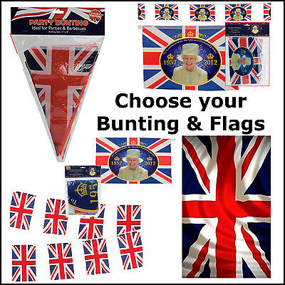 Union Jack Decorations Great Britian Olympic Queen Festival Flags /& Bunting