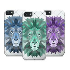 Geometric-Triangle-Lion-Zoo-Animal-Design-for-fits-iPhone-5S-5C-6-6S-Case