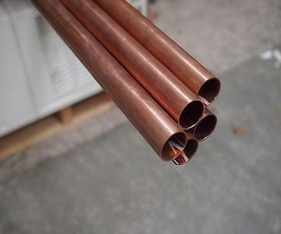 "32mm (11/4"") Type B x 6mt HD copper tube, copper pipe (31.75 x 1.22) (5 Pieces)"