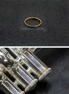 Genuine Bach Stradivarius Trumpet 3rd Valve Tone Ring (Gold Plated) NEW!