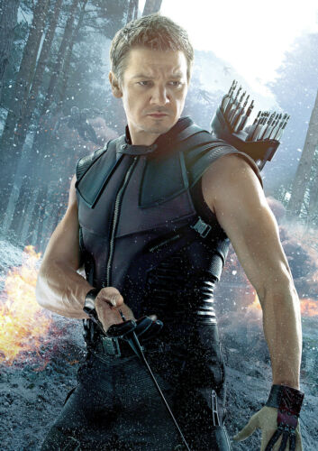 CHOOSE YOUR SIZE Hawkeye Poster Avengers Civil War Movie Quality Large FREE P+P