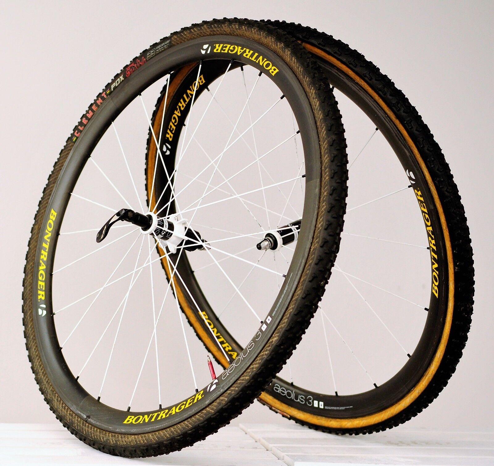 Bontrager Aeolus 3 Tubular Carbon Wheelset - 11-Speed, DT Swiss Cyclocross cross