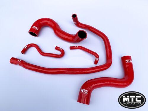 MTC MOTORSPORT CORSA D MERIVA VXR COOLANT WATER HOSE KIT 1.6T TURBO RED