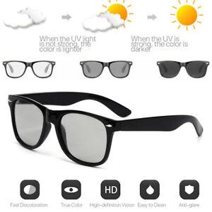 Photochromic Polarized Sunglasses Goggles Men Driving Fishing Transition Glasses