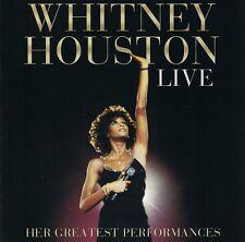 Whitney Houston LIVE - Her Greatest Performances CD NEU I Wanna Dance with Someb
