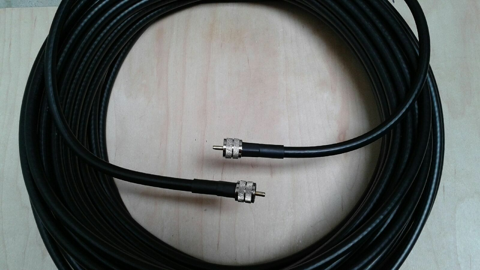 US MADE   LMR-400  HAM Radio Antenna Coax Cable PL259  to  PL259  100 FT. Buy it now for 117.00