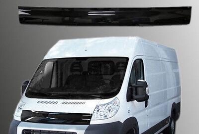 100% Verdadero Bonnet Trim Hood Protector Bug Guard Wind Deflector To Fit Fiat Ducato (06-14) Varios Estilos