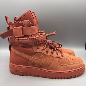 NWT Nike SF Air Force 1 Men Shoes, Dusty Peach NWT