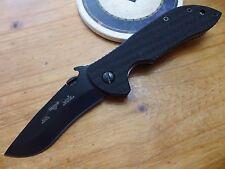 Emerson Knife Mini Commander BT - Black Plain Edge  - Prestige Dealer