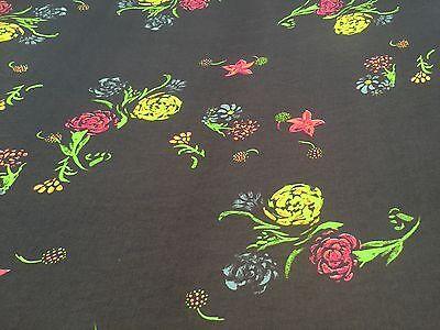 Chiffon Print -  Neon Punch  - Dress Fabric