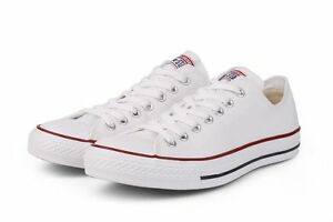 Converse-Chuck-Taylor-All-Star-White-Low-OX-Trainer-M7652C-NEW-Sneaker-Men-Women