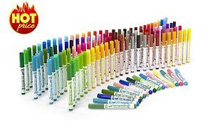 128 pcs Color Markers Pens Set Card Art Paint Draw Coloring Book Fine Permanent