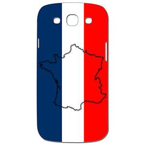 Coque 3D Téléphone - SAMSUNG GALAXY S3 - Carte de la France Bleu ...